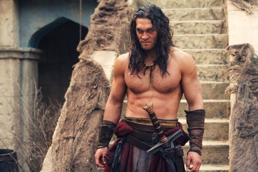Still of Jason Momoa in Conan the Barbarian